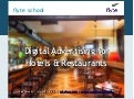 Digital Advertising for Hotels & Restaurants