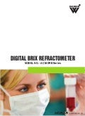 Digital Brix Refractometer by ACMAS Technologies Pvt Ltd.