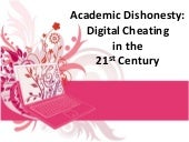 Digital Cheating