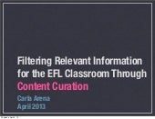 Digital Curation for Educators