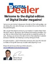 Digital Dealer  Nov 2009