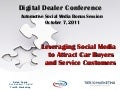 Digital Dealer Social Media Bonus Session