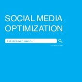 Social Media Optimization - It All ...
