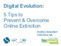 How to Prevent & Overcome Digital Extinction - Digital Evolution