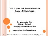 Digital Library Applications Of Soc...