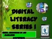 Digital literacy 1