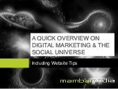 Overview on Digital Marketing and t...