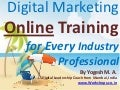 Digital Marketing Online Training for Every Industry Professional