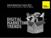 Digital marketing trends  2015