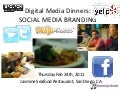 Digital Media Dinners- Social Media Branding