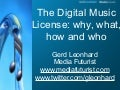 The Digital Music License & Music Like Water (Gerd Leonhard)