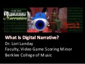 What Is Digital Narrative?