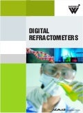 Digital refractometers category