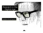 Digital Research for Today's Learners