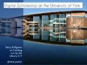 Digital Scholarship at York