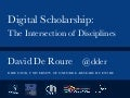 Digital Scholarship Intersection