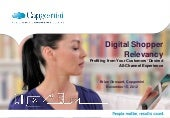 Digital Shopper Relevancy