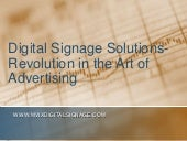 Digital Signage Solutions - Revolut...