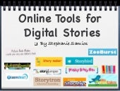 Online Tools for Digital Storytelling