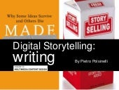 Digital storytelling part 1   writing