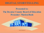Digital Storytelling Multimedia Pre...
