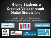 Digital storytellingsls presentation