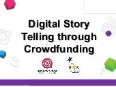 Digital Story Telling through Crowdfunding for NPOs