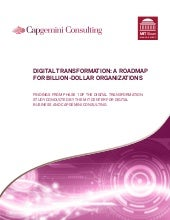 Digital transformation, a roadmap f...