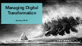 Managing Your Digital Transformation