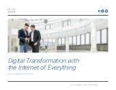 Digital Transformation with the Internet of Everything