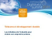 Digiworld - Séminaire Green ITC - P...