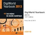Présentation du Digiworld Yearbook ...