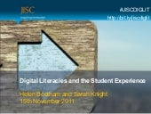 Diglit and student experience