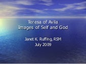 Teresa of Avila: Images of Self and...