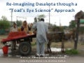 "Dipak Gyawali - Re-imagining Desakota through a ""toad's eye science"" approach"