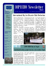 Dipecho5 news letter  3rd edition- ...