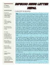 Dipecho v news letter  5th edition-...