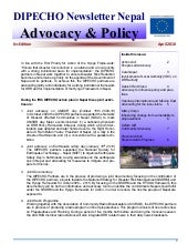 Dipecho v news letter  6th edition-...