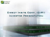 Direct Insite Corp. video