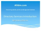 Directory Introduction