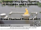 Disaster Communications Lessons fro...