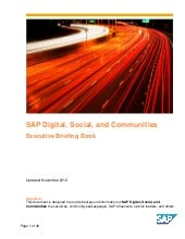 SAP Digital Social Communities Brie...