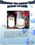 Discover the super food power of kefir
