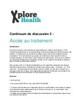 Discussion continuum - Access au tr...