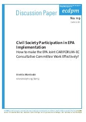 ECDPM - Discussion Paper 119 - Civi...