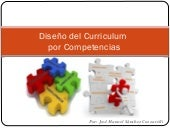 Diseño del curriculum(j. sanchez co...