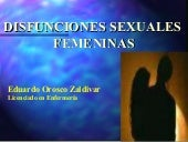 Disfuncion sexual Fem.