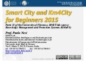 Smart City at DISIT Lab, step two after smart city for beginners