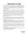 radio promotions assistant cover letterdisk jockey resume cover letter