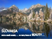 Discover SLOVAKIA . . . the hearth of Europe